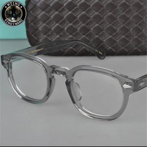 2020 Moscot Lemtosh Классических площадей Оптика очки Женщины Clear Человек ретро Мужчины Дизайнер Предписание очки Дама Большая рамка