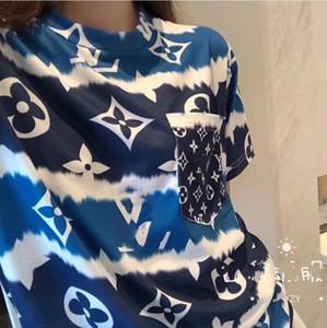 El nuevo vestido de las mujeres del resorte de moda, de puro algodón de manga corta camiseta, suelta y cómoda de las mujeres de moda,