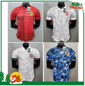 Player version 2020 Japan Spain Mexico home soccer Jerseys 20 21 Sports football men sets