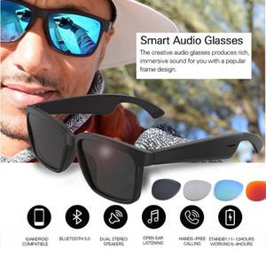 Neuer Ankunfts-intelligente Bluetooth Sonnenbrille Kopfhörer mit offenem Ohr Technologie Erhalten Freihändige Bluetooth Brille Antwort Anrufe