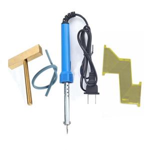 Fcarobd para mercedes benz dead pixel de ferro de solda de reparação t-tip cabo de borracha azul para mercedes viano vito cabo fita conector plana