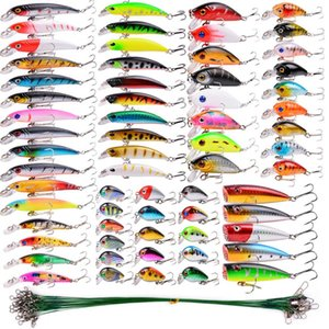 Cheap Lures Almighty Mixed Fishing Lure Kits Wobbler Crankbaits Swimbait Minnow Hard Baits Spiners Carp Bait Set Fishing Tackle