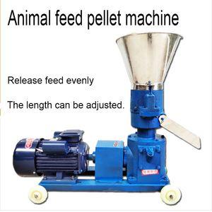 Granule alimentaire multifonctionnel d'aliment de broyeur de granulés KL-125 faisant le granulateur 220V 4KW / 380V 3KW 80kg / h de ménage d'alimentation de machine de ménage