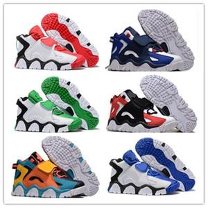 2020 En Kaliteli Erkek Baraj Orta QS Scottie Pippen Basketbol Ayakkabı Hiper Üzüm Mor Raptors Siyah Beyaz Sarı Spor Spor ayakkabılar