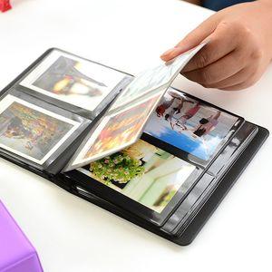 64Pockets Mini instantâneas Polaroid Photo Album Imagem Case for Fujifilm Instax Mini 7S Film 8 25 50 90 instax álbum de mini-Polaroid