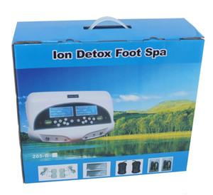 Fabrik Preis !!! Fußbad-Maschine mit 2 Personen-Ionenreiniger Detox-Maschine Dual Detox-Fußbad-Maschine für den Heimgebrauch