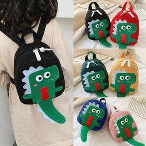 Hot Dinossauro bonito unisex saco de escola dos desenhos animados Design Animais Backpack criança Bolsa Escola dos desenhos animados