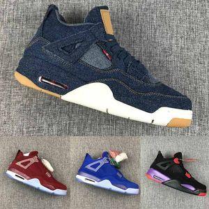 Nuovo 2020 Bred White Cement 4 4s What The Cactus Jack Cool Grey Mens scarpe da basket 11 11s Concord 45 Pure Denaro Royalty sport degli uomini delle scarpe da tennis