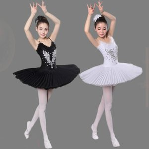 Swan Lake Ballett-Kostüm-erwachsener Professionell Platter Tutu Ballett-Kleid für Mädchen Frauen klassischer Tutu Tanzkleidung