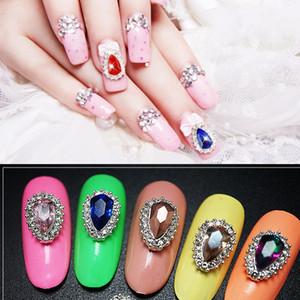 Multi-estilo 100 Pcs Colorido Nail Art Alloys Encantos Para DIY Manicure Ferramentas de decoração de unhas Encantos de unha Jóias Strass @ A89-103