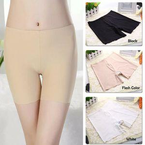 cueca segurança Mulheres Boxer Shorts suave Calcinhas Ladies Seamless Boyshorts Underwear Pijamas 710