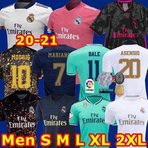 Real Madrid formaları 20 21 futbol forması TEHLİKESİ Sergio Ramos BENZEMA VINICIUS camiseta futbol forması üniforma erkekler + çocuklar kiti setleri 2020 2021