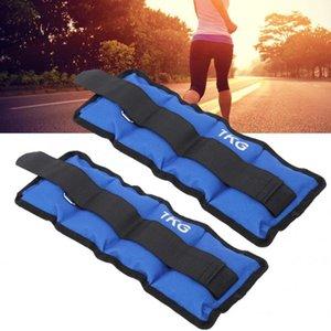 1KG Borsa Sand 2 Pesi pc nuovi Leg Caviglia polso sacchetto della sabbia cinghia di forza Attrezzi per Gym Fitness Yoga esecuzione di accessori