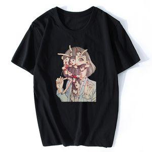 Manga corta Hombre Manga Junji Ito T camisas Kago Shintaro camisetas top de la camisa Camisa del diseño estético animado japonés