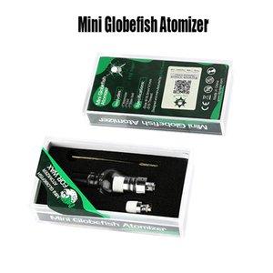 Mini Globefish Atomizer Balmumu Küre Atomizer Seramik Bobin 510 Konu Otantik E Sigara Atomizer Vape Mods Mini Globefish Kiti LTQ Buharı