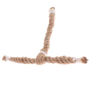 Птица окунь игрушка хлопковая веревка жевательный попугай качели скалолазание