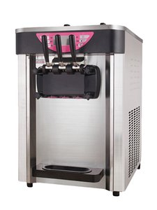 Simple operation ice cream machine CE EMC certificate desktop soft ice cream machine Free shipment 220V