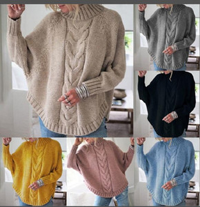 Quality High Sweater Casual Womens Clothing Female Solid O Neck Long Sleeved Knitted Color Women Soft Pullovers