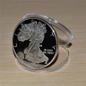 2000 América Silver Eagle * NUEVO * 1troy oz 0.999 lingotes de plata redondo moneda americana águila de plata 1OZ