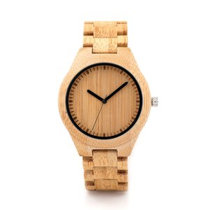 Bobo Bird Wooden Watch Men Relogio Masculino Timepieces Japan Movt 2035 Quartz Watches Special For Drop Shipping Y19052103