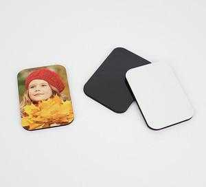 7 * 5 * 0.4cm MDF Bois Magnets Sublimation Blanks Stickers personnalisés aimants pour réfrigérateur SN4454 en bois