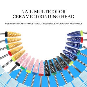 Nail керамические свёрла для ухода за руками Электрические машины для ногтей Фрезер для ногтей Педикюр Art аксессуары Инструменты