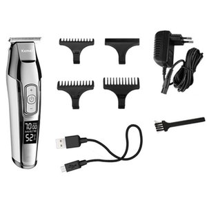 KEMEI KM-5027 Hair Clippers for Men Hair Beard Trimmer Rechargeable Barber Hair Grooming Kit with 3 Guide Combs hairclippersdesign ggwzC