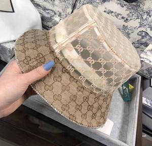 Caliente diseñador de la venta del sombrero del cubo diseñador de la mujer casquillo de la manera del borde de los sombreros con Tacaño modelo de la impresión respirable ocasional letras Armarios Beach Sombreros