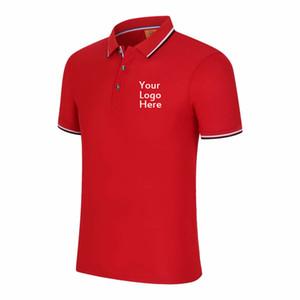 여름 새로운 폴로 셔츠 여성 짧은 소매 캐주얼 슬림 사용자 정의 인쇄 브랜드 로고 텍스트 폴로 커플 남성 야외 탑스 플러스 사이즈 4XL