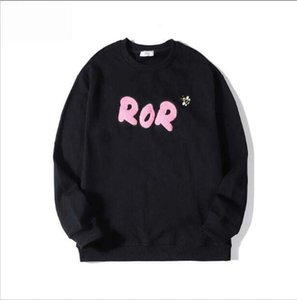 19FW Towel Logo Hoodie Sweatshirt Bee Embroidery France Classic Brand Long Sleeve Hommes Pullovers Streetwear Mens Black Clothing M-2XL