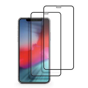 9D Voll Kleber Ausgeglichenes Glas-Schutz für Huawei P30 Lite Mate-20 Y6 Pro 2019 Ehren V20 Wiedergabe Redmi Anmerkung 7 9D Coverage Displayschutzfolie