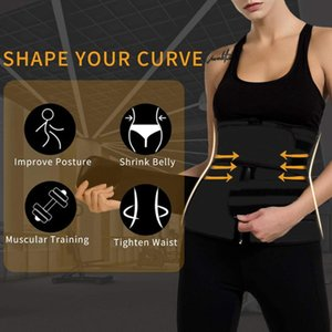 Waist Trainer Support Belt Workout Tummy Control Fitness Sweat Slimming Band for Working-out Comfortable Decoration