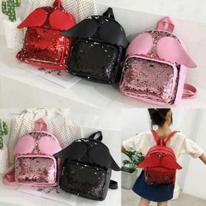 Fashion Toddler Kid Baby Girls School Bag Sequin Satchel Backpack Rucksack Teen Children Infant Shoulder Bookbag
