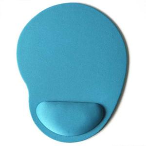 8 colores creativos con forma de pie mouse pad ECO amigable EVA muñequeras mouse pads inodoros juegos para computadora mouse pad
