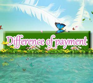 Diferencia de pago Envío gratuito