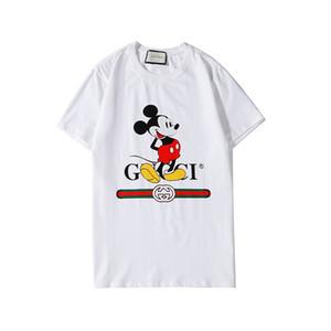 Maymun Desen Erkek brandShirts Lüks designerT-shirt Erkekler Kadınlar TASARÇİZİMİ Tees Yaz Kısa Kollu Hip Hop Erkek Lüks Gömlek 2020320K