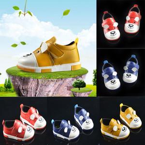0-3Y pudcoco más nuevo bebé llegadas caliente zapatos de cuero del niño recién nacido del bebé niños unisex suave suela antideslizante Prewalker informal