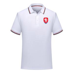 erkekler Çek Cumhuriyeti Futbol Tişört Futbol Kısa Kollu polo gömlek yaz Moda gömlek eğitim Polo Gömlek futbol forması Erkekler Polos