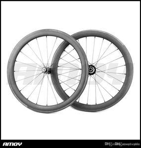 "profundidad de 38 mm 20/24 V Freno para 20"" bicicleta plegable BMX bicicleta de carretera Bordes de 451 juego de ruedas Carbon Wheels"