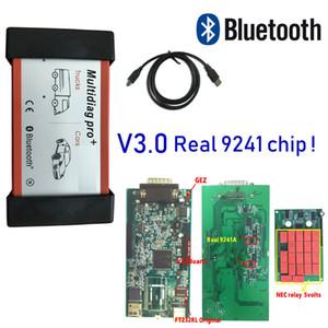 DHL FREE SHIP! v3.0 Multidiag Pro plus Bluetooth vd ds150e cdp Multi language Multi diag Pro+ for delphis autocoms Cars Trucks