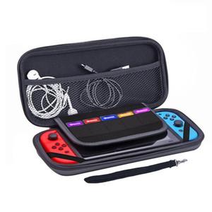 المحمولة لنينتندو لعبة التبديل وحدة التخزين حقيبة هارد شل حقيبة حمل عرض القضية إيفا الأسود عادي غطاء