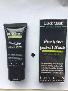 Siyah çamur Facail yüz maskesi Kaldır kapalı Sıcak satış shills Derin Temizleyici arındırıcı soyma yüz maskesi Pürüzsüz Cilt Shills maskeler siyah nokta