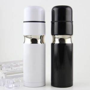 C-Klassiker-Logo Vacuum Cup Thermosflaschen 304 Edelstahl Auto Flasche Lippenstift Kaffeetasse Reise Isolierflasche