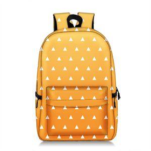 8style Ghost destroying blade student backpack Multi-function High-capacity Backpack Kid Originality shoulder bag school bag BJJ358