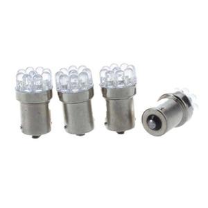 4 X 1156 Lamp Bulb BA15S P21W 9 LEDs 12V White For Car