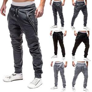 2019 Yeni Erkek Pantolon Spor Pantolon Uzun Pantolon Eşofman Fitness Egzersiz Koşucular Gym Sweatpants Hirigin
