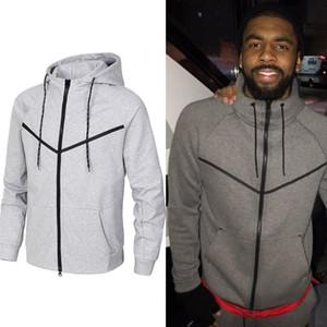 Осень и зимний спортивный досуг мужской хлопковый свитер с капюшоном Новый модный бренд мужской пальто плюс размер S-3XL BNI0-KE9