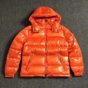 2019 куртка для мужчин черный британских мужчин стиля вниз куртка с капюшоном пальто классический согреться белый утка вниз зимние пальто MAYA