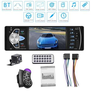 4.1 inch HD Car MP5 Bluetooth Hands-free Vehicle MP5 Player Card Radio 4022D with Rear Camera