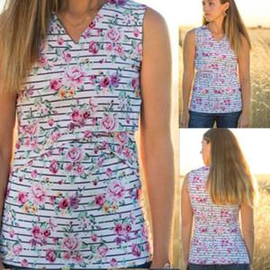 Anneler geliş Gebelik Hamile Giyim Hamile Kolsuz Hamile Kadınlar için / Tişört Emzirme Gömlek Hemşirelik Tops